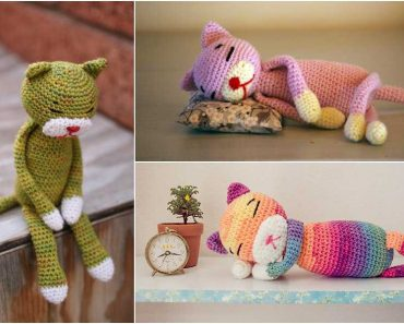 Amineko Cat Free Crochet Pattern