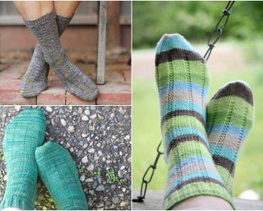 Free Vanilla Latte Socks Knitting Pattern
