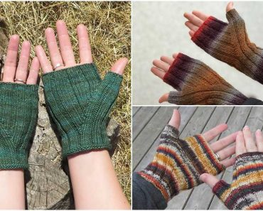 Pioneer Gloves Free Knitting Pattern