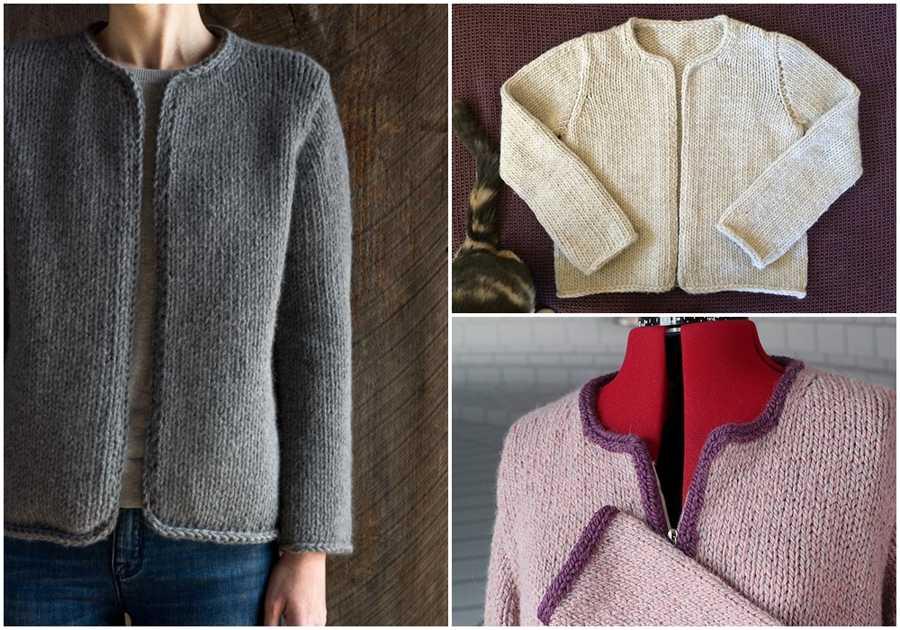 Classic Jacket Knitting Pattern