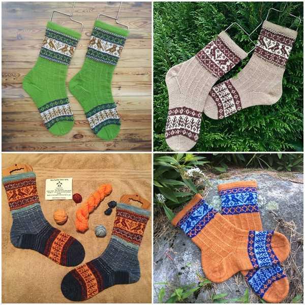 Kanteletar Socks Pattern