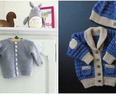 Little Ivanhoe Baby Jacket Pattern
