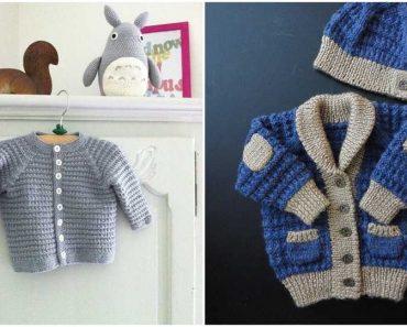 Little Ivanhoe Baby Jacket Pattern