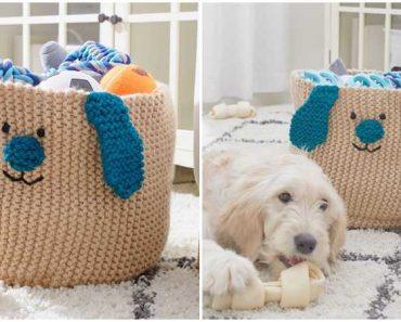 Puppy Toy Basket