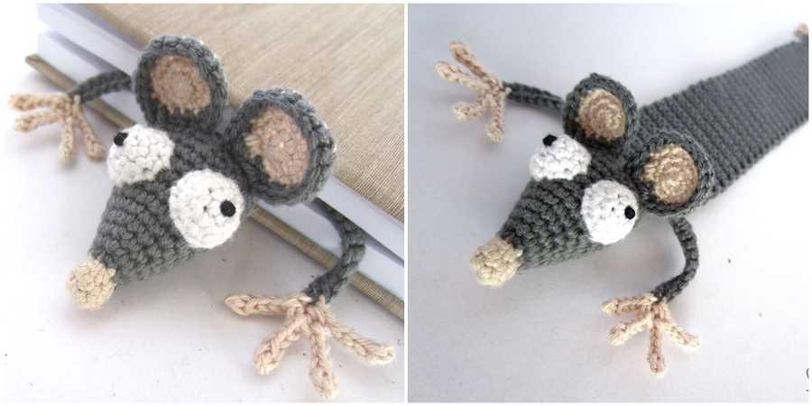 Book Rat Knitting Pattern