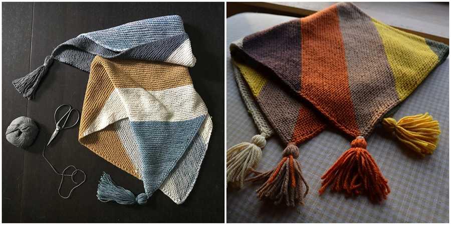Colorblock Blanket Pattern