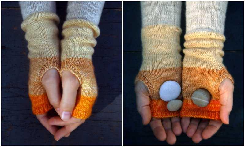 Handwarmers Knitting Pattern
