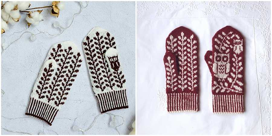 Free Grey Eyed Mittens Pattern