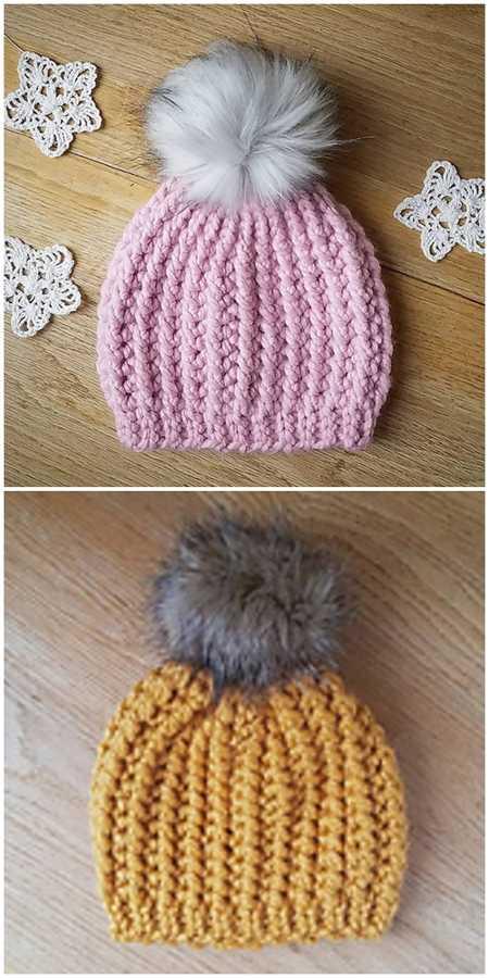 Crochet Beanie Patterns