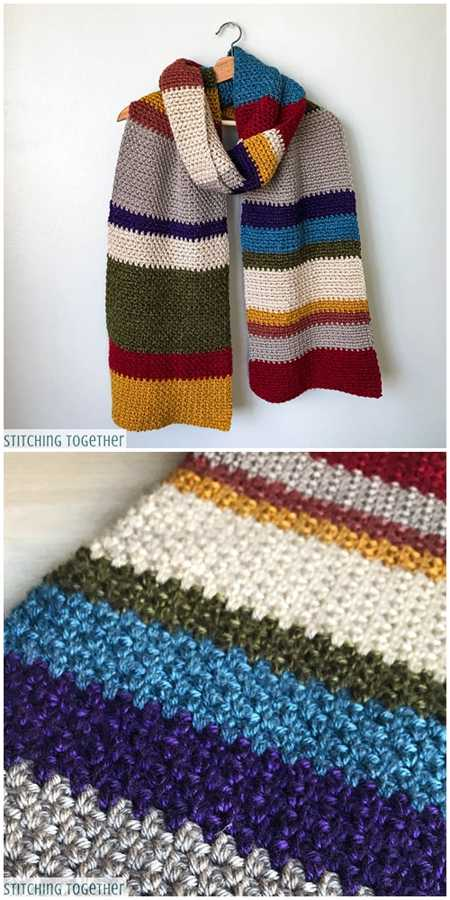 Multicolored Scarf Pattern