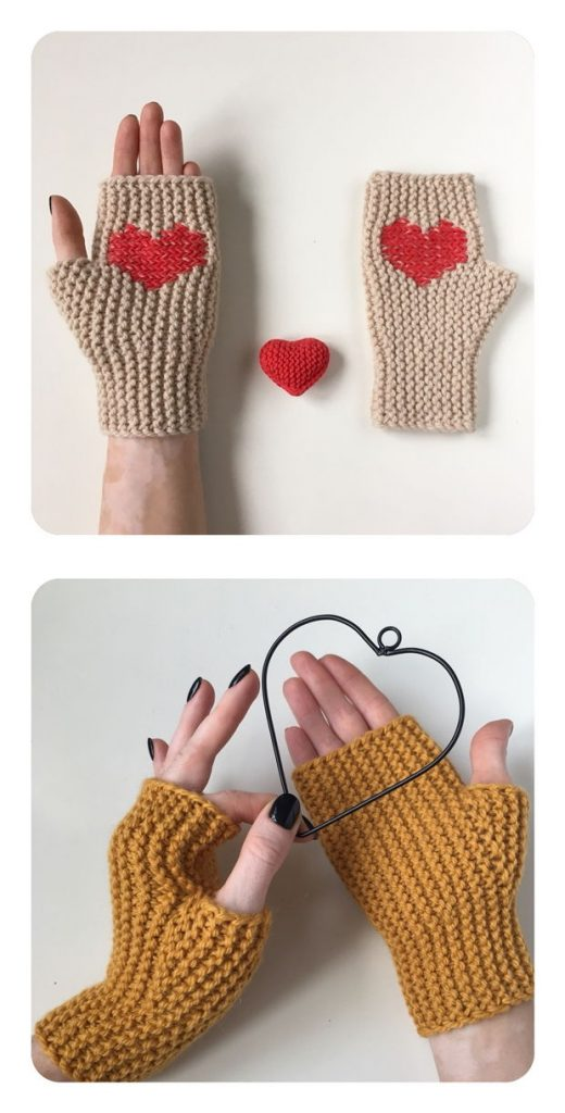 Basic Arm Warmers Free Knitting Pattern