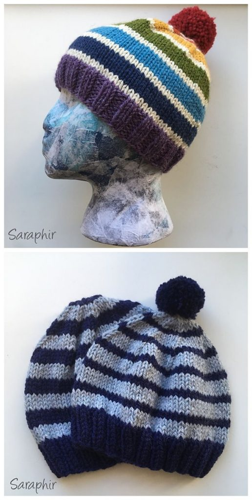 Free Knitting Child Hat Patterns