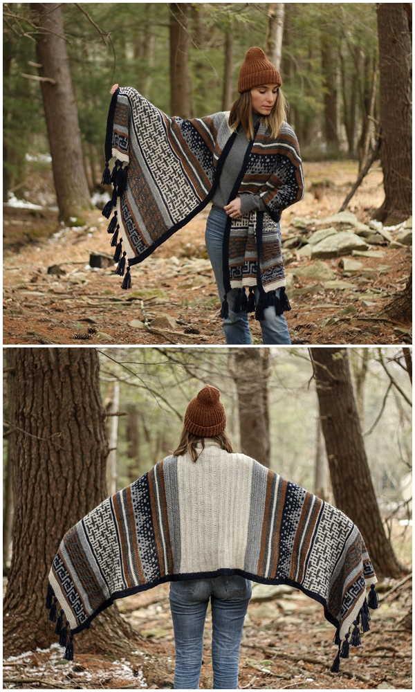 Free Knitting Wrap Patterns