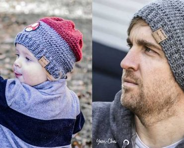 Hyland Men's Hat Free Crochet Pattern