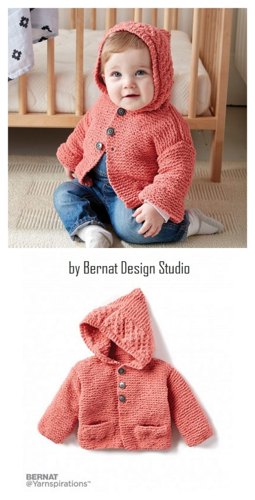 In the Details Knit Hoodie Free Pattern