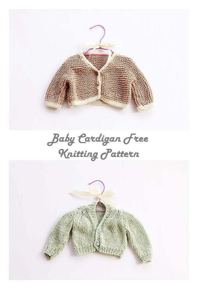 Free Knitting Cardigan Patterns