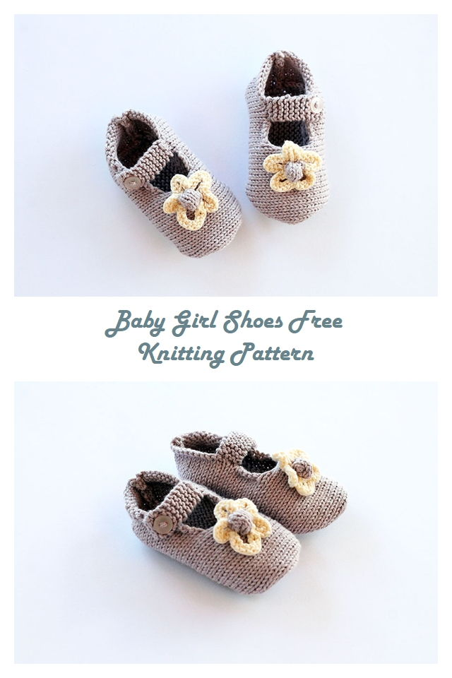 Free Knitting Booties Pattern