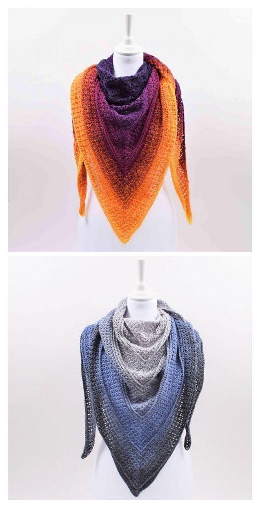 Timeless Deluxe Shawl Free Crochet Pattern