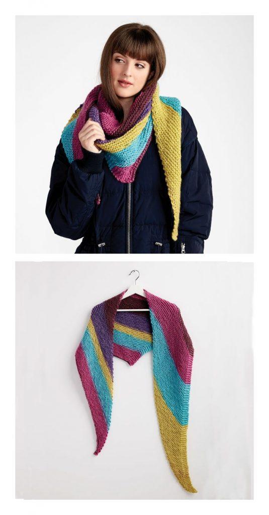 Free Knitting Shawl Pattern