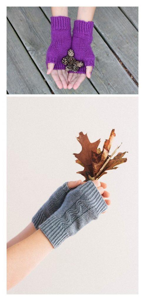 Knitting Mittens Pattern