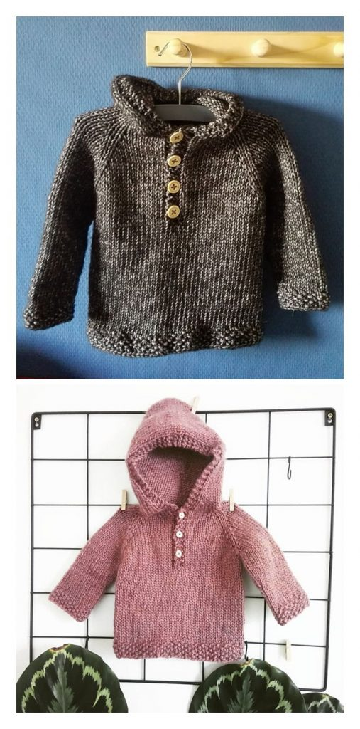 Free Knitting Pullover Patterns
