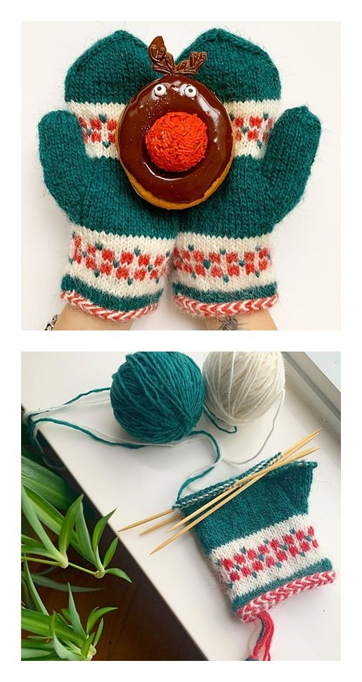 Free Knitting Mittens Pattern