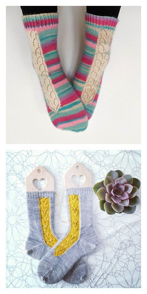 Villiviini Socks Free Knitting Pattern