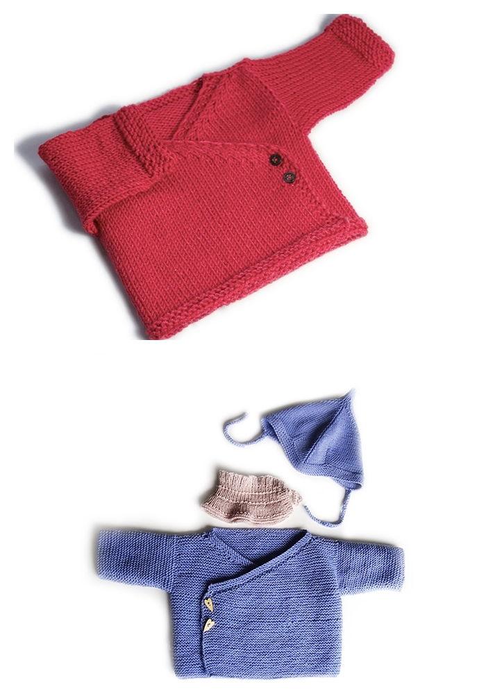 Free Knitting Baby Cardigan Patterns