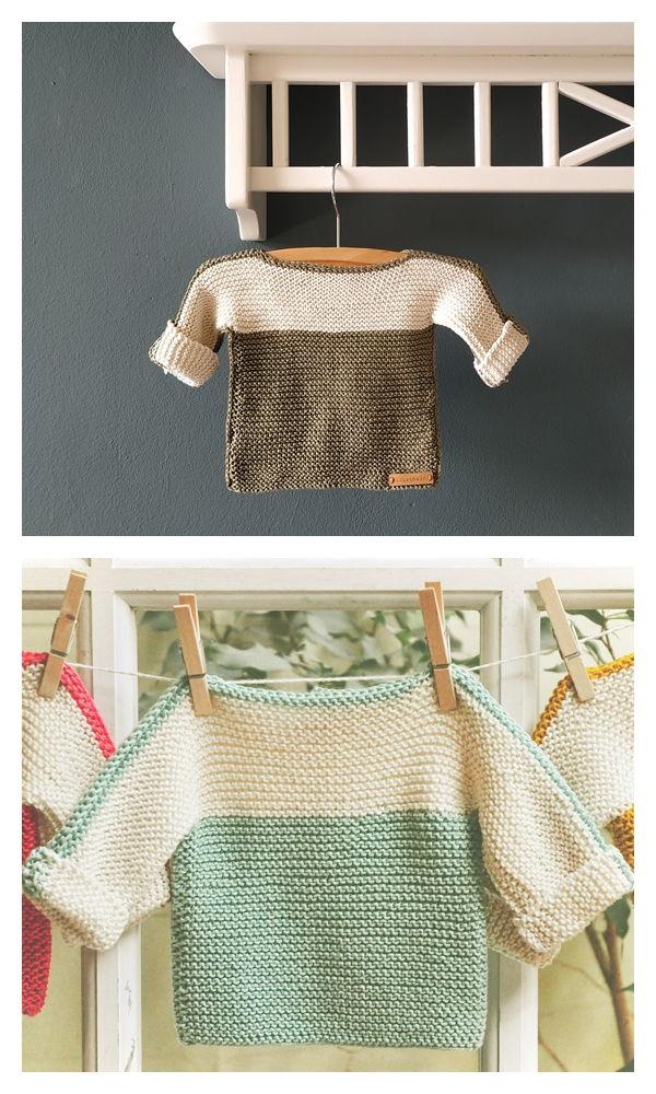 French Macaroon Free Knitting Pattern