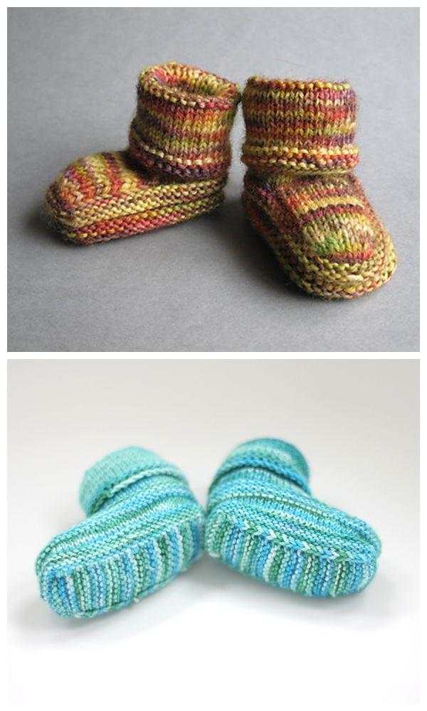 Hodge Booties Free Knitting Pattern