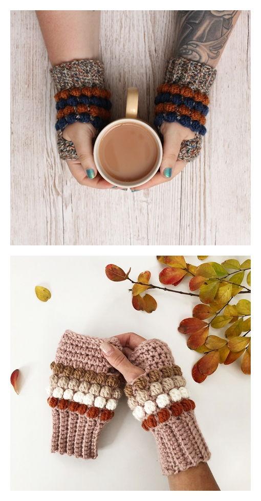 Horizon Fingerless Gloves Pattern