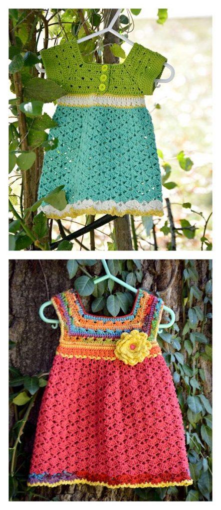 Little Miss Allison's Dress free crochet pattern