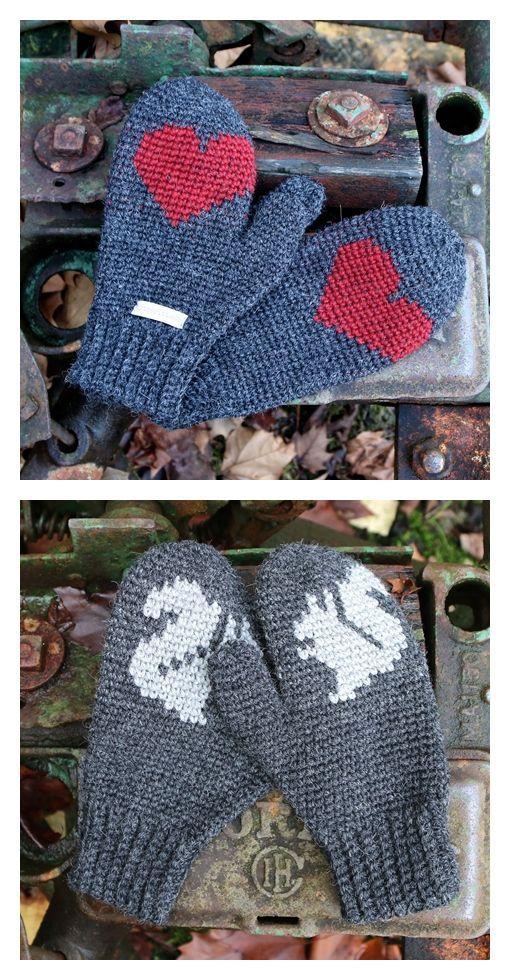 Mr. Murdock's Mittens Crochet Pattern