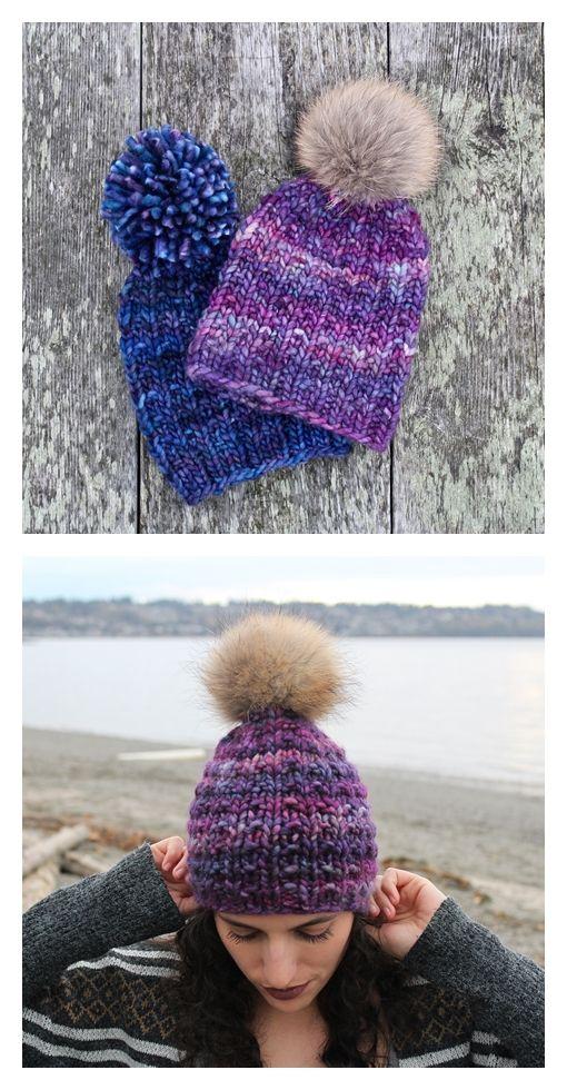 Nour Hat Free Knitting Pattern