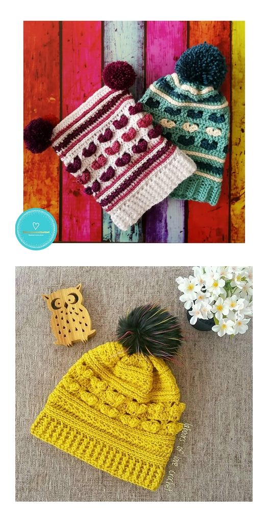 The Lucky Star Beanie Free Crochet Pattern