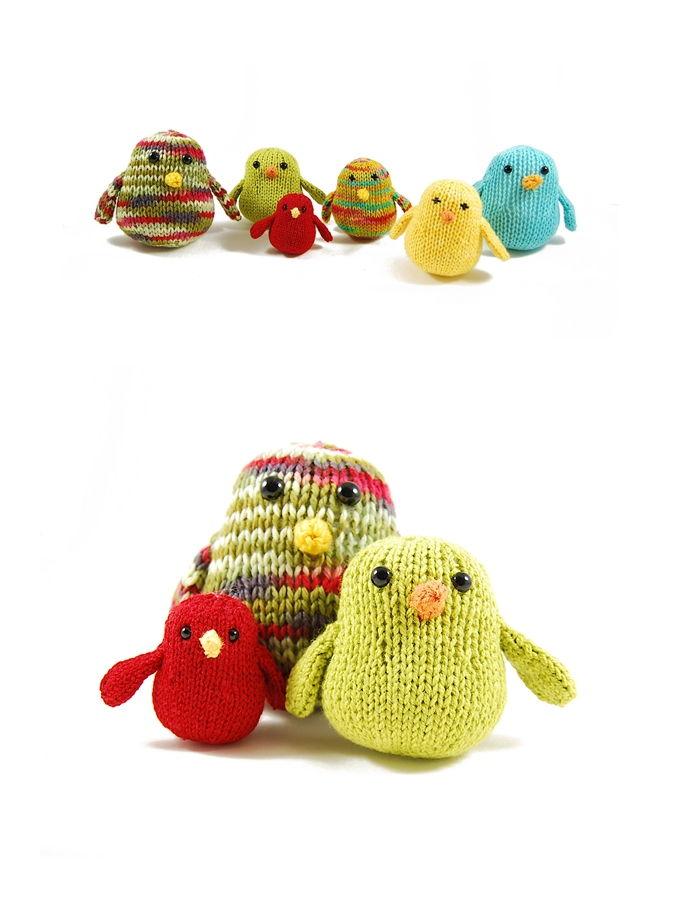 Chubby Chirps Free Knitting Pattern
