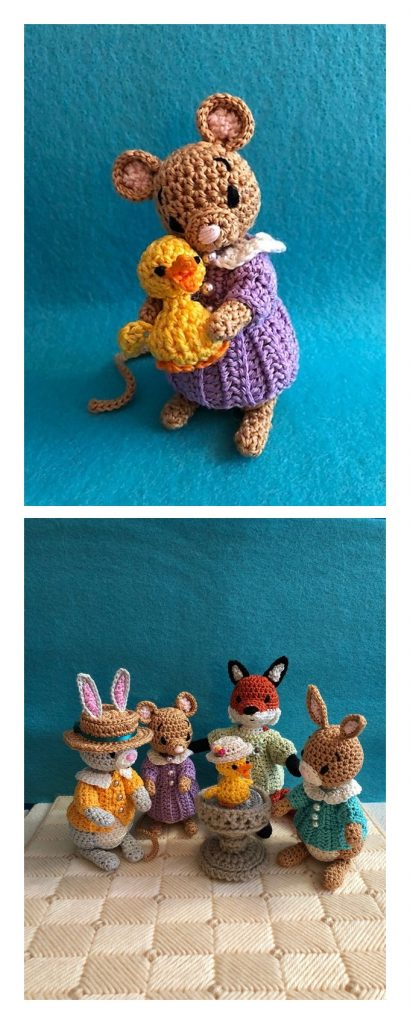 Duck with a Hat Free Crochet Pattern