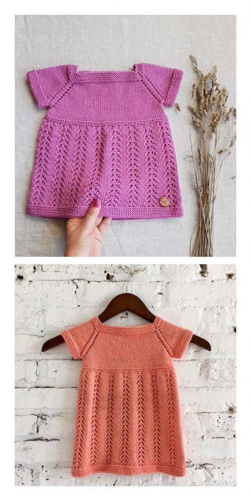 Kelsey Dress Free Knitting Pattern
