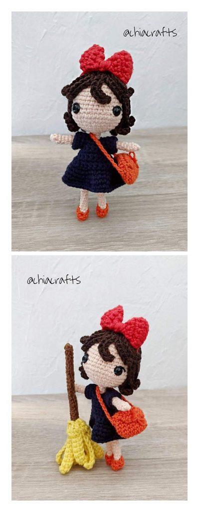 Kiki Witch Amigurumi Free Crochet Pattern