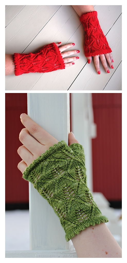Leaving Cuffs Free Knitting Pattern