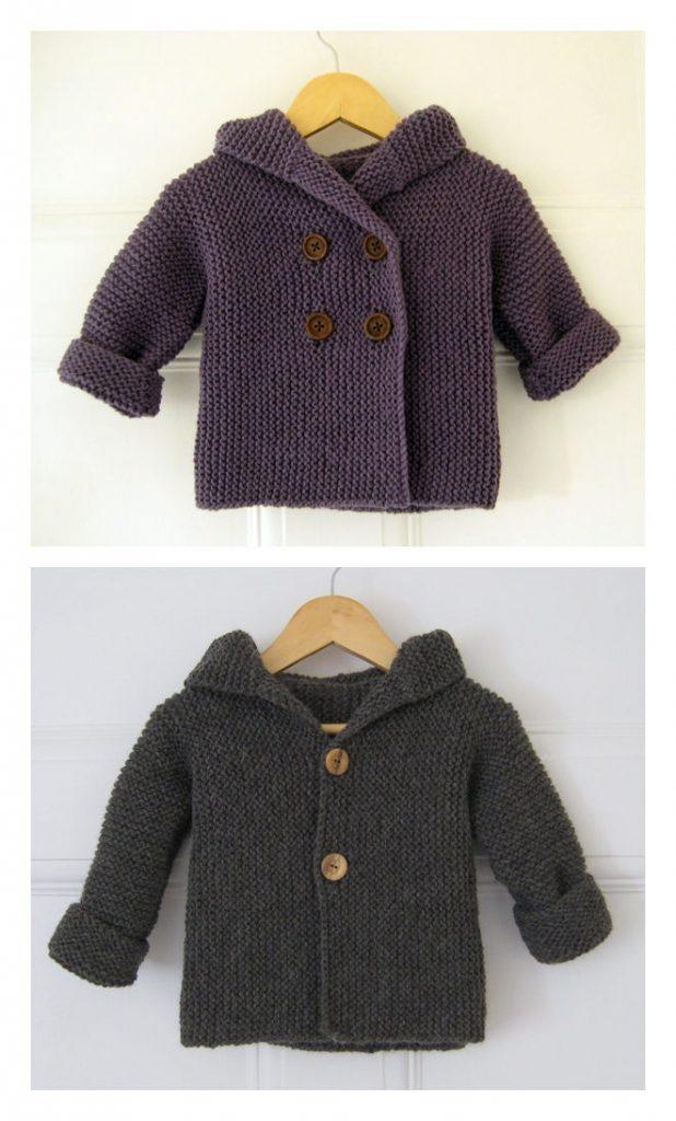 Lino's Coat Free Knitting Pattern