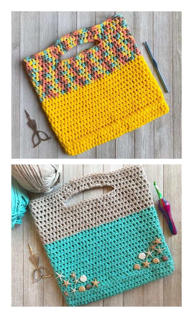 Project Bag Free Crochet Pattern
