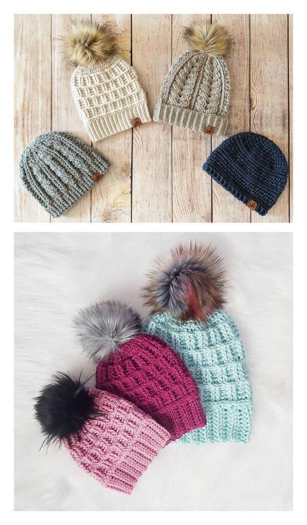 The Steeple Slouch Hat Free Crochet Pattern