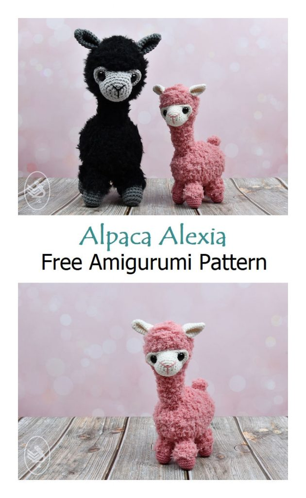 Alpaca Alexia Free Crochet Pattern