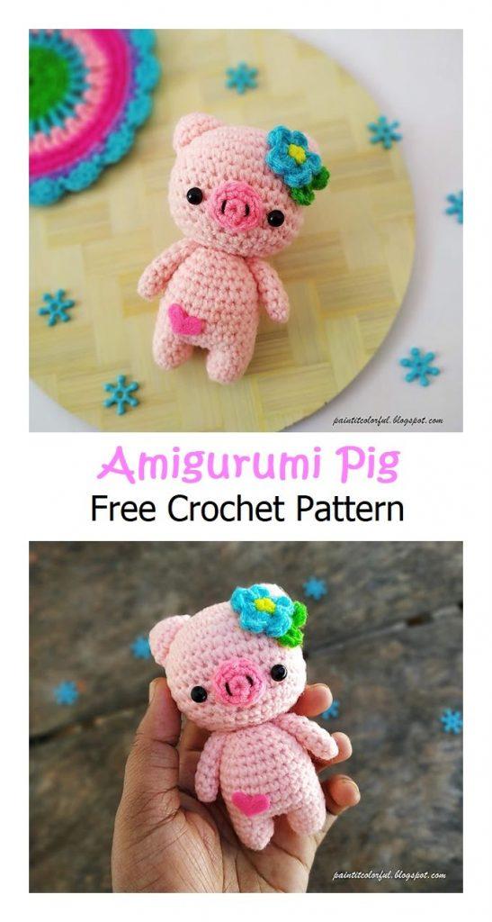 Amigurumi Pig Free Crochet Pattern