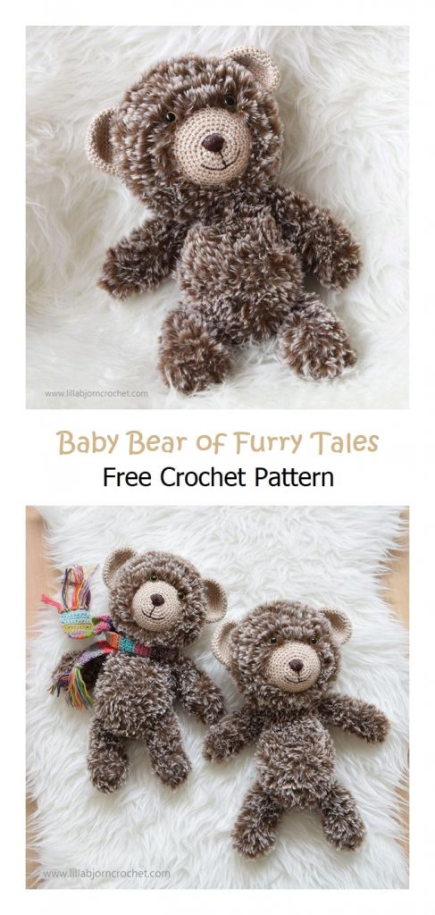 Baby Bear of Furry Tales Free Amigurumi Pattern