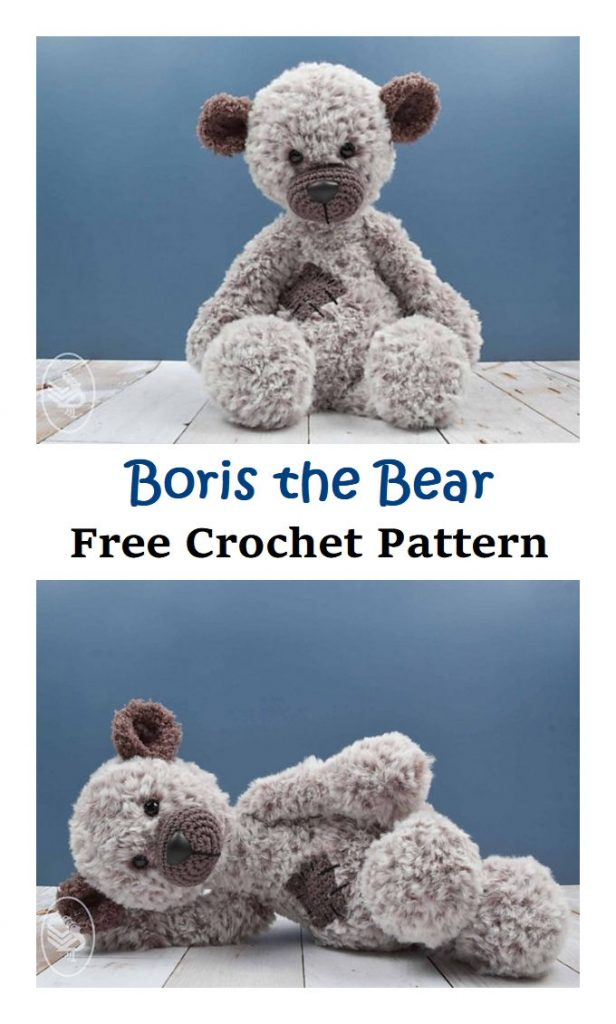 Boris the Bear Free Crochet Pattern