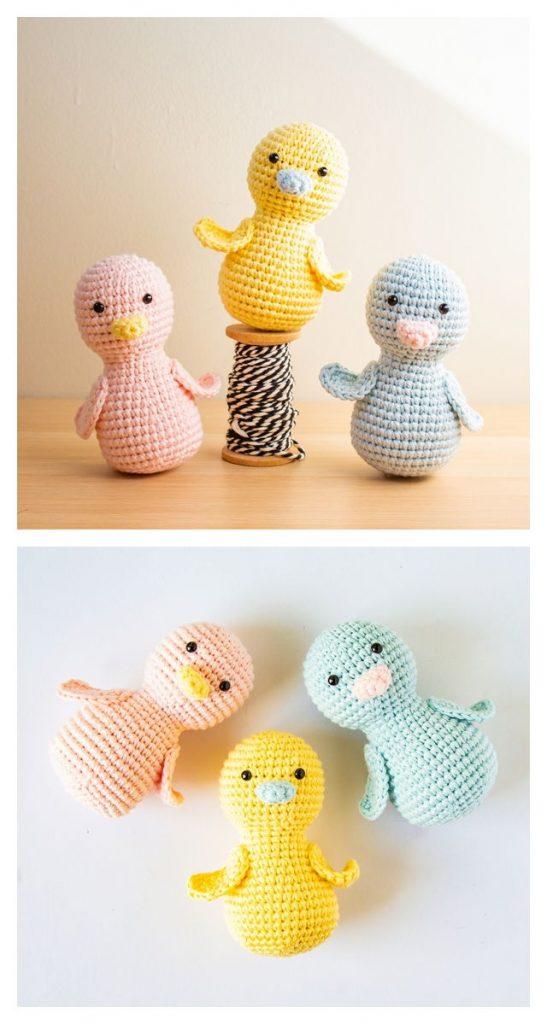 chick A peeps Free Amigurumi Pattern