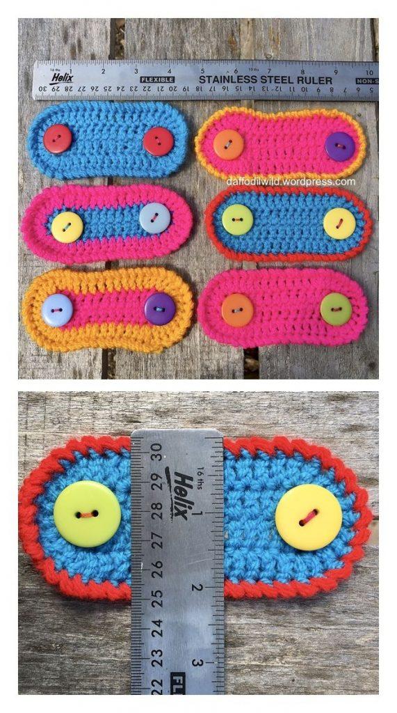 Ear Savers Free Crochet Pattern