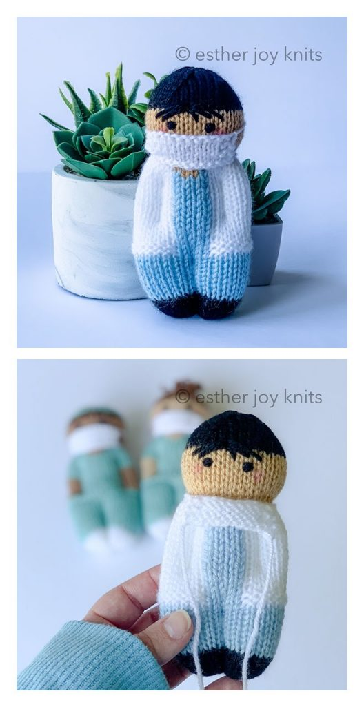 Friendly MD Free Knitting Pattern